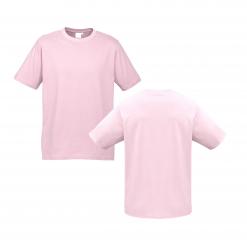 Unisex Kids Pink Custom Tee Your Choice of Logo or Design