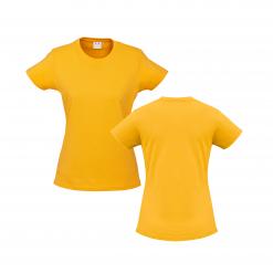 Ladies Yellow Gold Custom