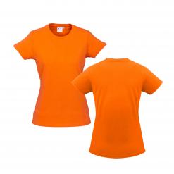 Ladies Orange Custom Tee