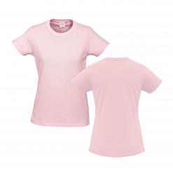 Ladies Pink Custom Tee