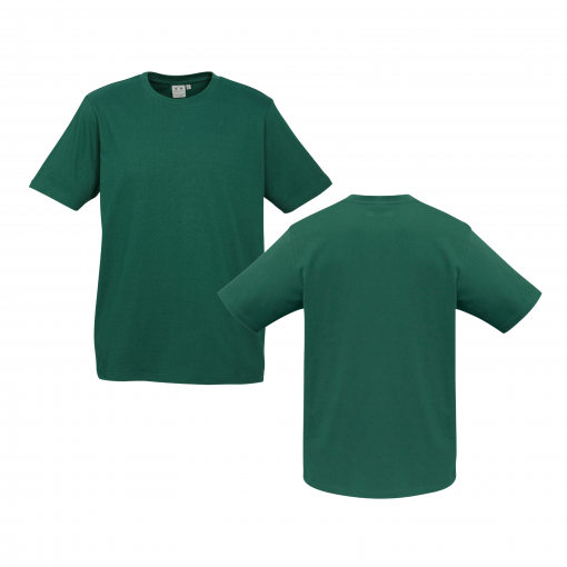 Mens Forest Green Custom Tee Your Choice of Design or Logo