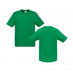 Mens Kelly Green Custom Tee Your Choice of Design or Logo