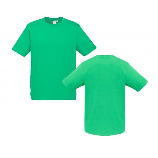 Mens Neon Green Custom Tee Your Choice of Design or Logo