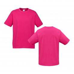Unisex Kids Fuchsia Custom Tee Your Choice of Logo or Design