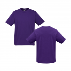 Unisex Kids Purple Custom Tee Your Choice of Logo or Design