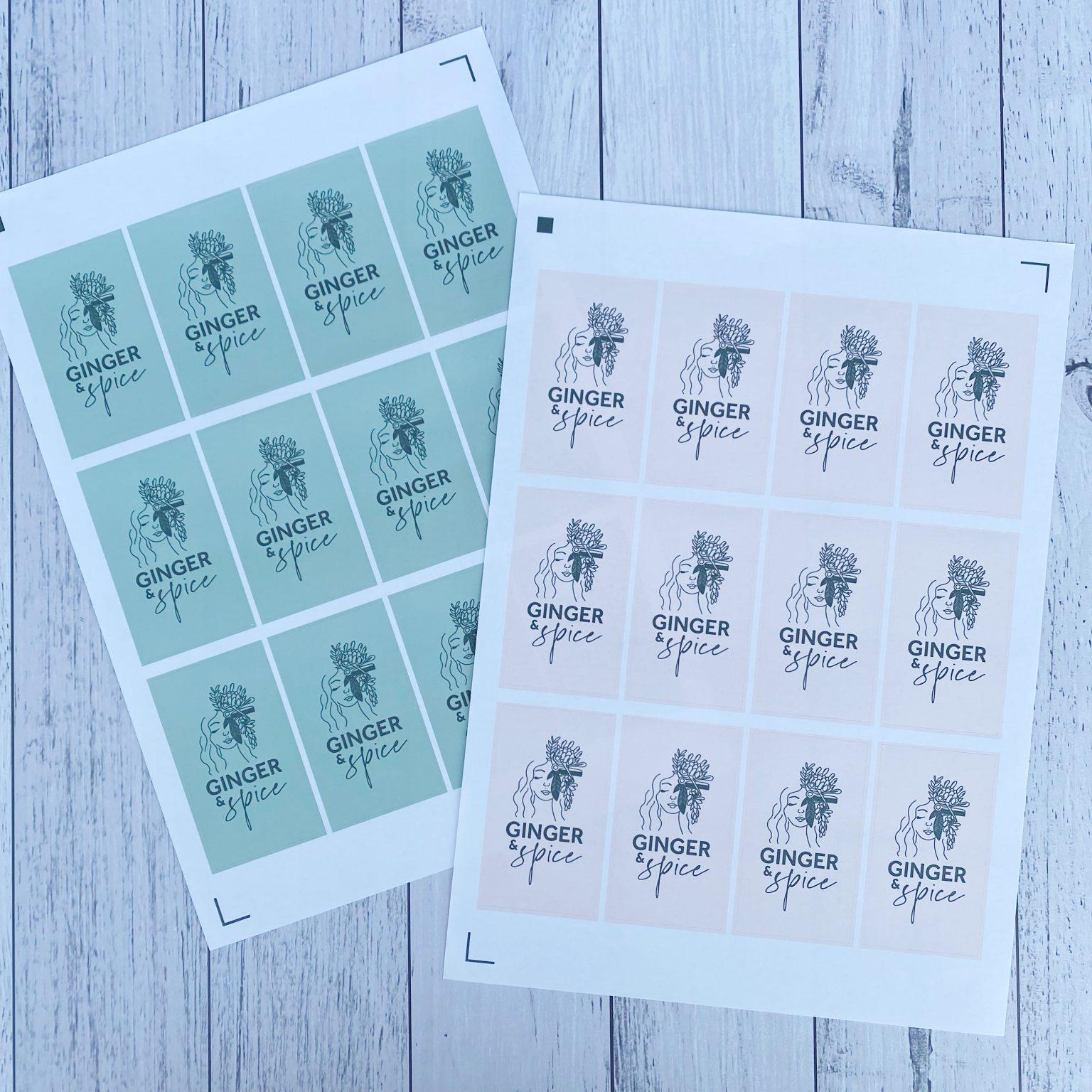 Custom Size Sticker Sheets