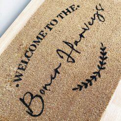 Custom Welcome Doormat