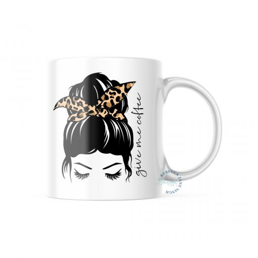 Give Me Coffee Mug 11oz or 325ml Ceramic Dishwasher Safe Mug