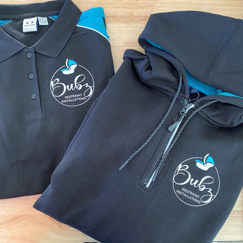 Branded Polo & Hoodie
