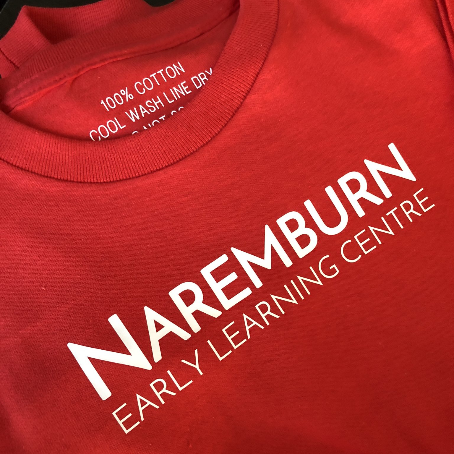 Pre-School Excursion T-Shirts for Early Childhood Education Centres