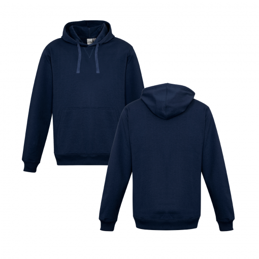 Navy Hoodie Front & Back