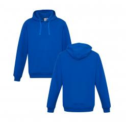 Royal Blue Hoodie Front & Back