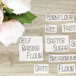 Pantry Labels Example