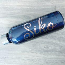 Premium Rose Gold Foil Drink Bottle Label