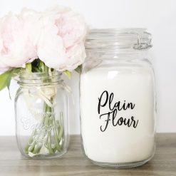 Plain Flour Pantry Label