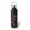 Premium Rose Gold Drink Bottle Label