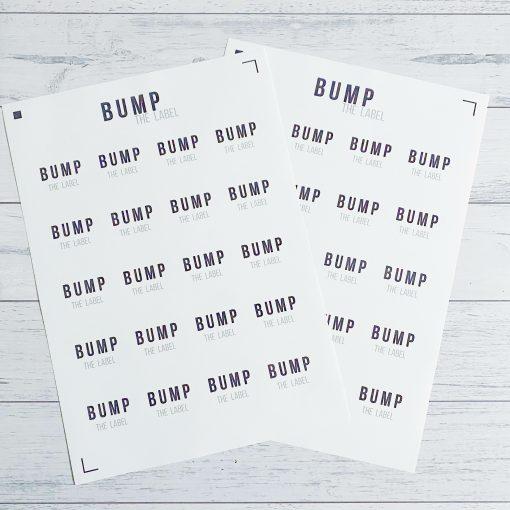 Custom Round Sticker Sheet